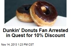 Gun-Waving Guy Pretends He's Cop—for Cheap Donuts