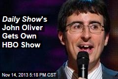 Daily Show 's John Oliver Gets Own HBO Show
