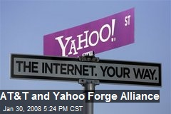 AT&T and Yahoo Forge Alliance