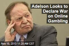 Adelson Looks to Declare War on Online Gambling