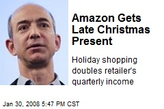 Amazon Gets Late Christmas Present