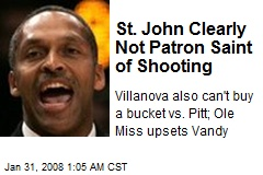 St. John Clearly Not Patron Saint of Shooting