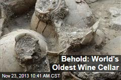 Behold: World's Oldest Wine Cellar