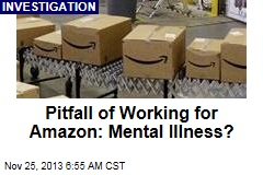 Pitfall of Working for Amazon: Mental Illness?