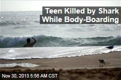 Teen Killed by Shark While Body-Boarding