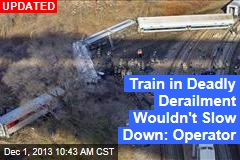 Train Derails in NYC; Some Cars Submerged