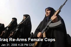 Iraq Re-Arms Female Cops