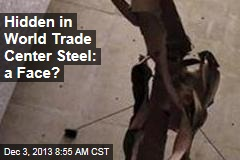 Hidden in World Trade Center Steel: a Face?