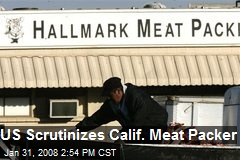 US Scrutinizes Calif. Meat Packer
