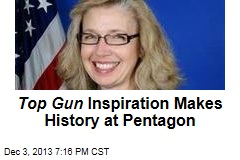 Top Gun Inspiration Makes History at Pentagon