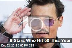 8 Stars Who Hit 50 This Year