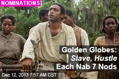 Golden Globes: Slave , Hustle , Gravity Score Best Pic Nods
