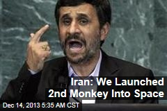 Iran: We Launched 2nd Monkey Into Space