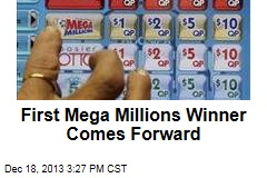 First Mega Millions Winner Comes Forward