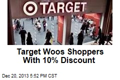 Target Woos Shoppers With 10% Discount