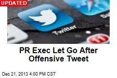 PR Exec's Account Deleted After Infamous Tweet