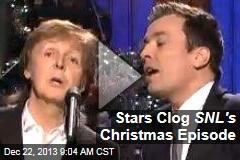 Stars Clog SNL's Christmas Episode