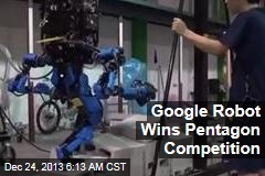 Google Robot Wins Pentagon Competition