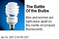 The Battle Of the Bulbs