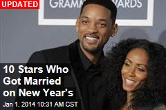8 Stars Who Got Married on New Year's
