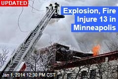 Building Explosion Injures 12 in Minneapolis