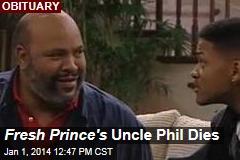 Fresh Prince's Uncle Phil Dies