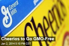 Cheerios to Go GMO-Free