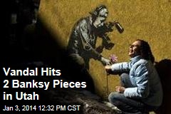 Vandal Hits 2 Banksy Pieces in Utah