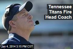 Tennessee Titans Fire Head Coach