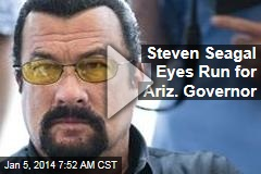 Steven Seagal Eyes Run for Ariz. Governor