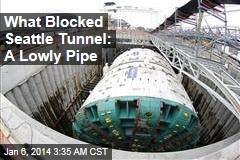 Seattle Tunnel Blocker: Simple Steel Pipe