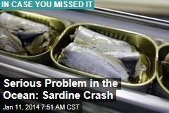 Serious Problem in the Ocean: Sardine Crash