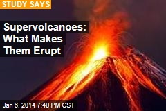 Supervolcanoes Can Erupt With No Trigger
