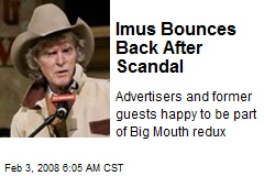 Imus Bounces Back After Scandal