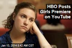 HBO Posts Girls Premiere on YouTube