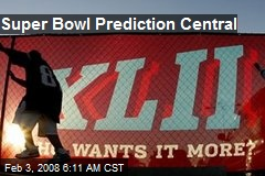 Super Bowl Prediction Central