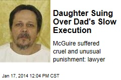 Daughter Suing Over Dad's Slow Execution