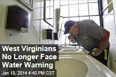 West Virginians No Longer Face Water Warning