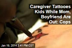 Caregiver Tattooed Kids, Guy Tried Burning It Off: Police