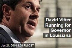 David Vitter Running for Governor in Louisiana