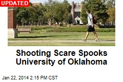 Possible Shooting Spooks University of Oklahoma