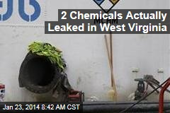 2 Chemicals Actually Leaked in West Virginia