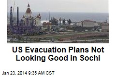 US Evacuation Plans Not Looking Good in Sochi