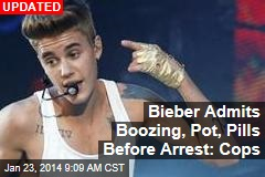 Finally, Justin Bieber Actually Arrested