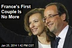 France's First Couple Is No More