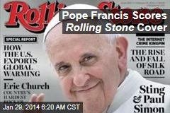 Pope Francis Scores Rolling Stone Cover