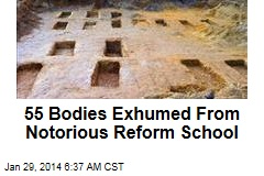 55 Bodies Exhumed From Notorious Reform School