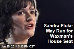 Sandra Fluke May Run for Waxman's House Seat