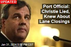 Port Official: Christie Lied, Knew About Lane Closings