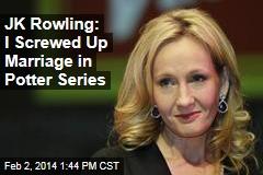 JK Rowling: I Screwed Up Plot Twist in Potter Series